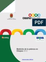Medición de la pobreza en Chiapas 2012 - CONEVAL