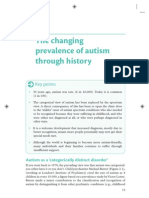 The Changing Prevalence of Autism Through the Years