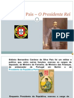 Sidónio Pais – O Presidente Rei