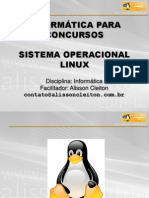 2 - Sistema Operacional LINUX