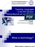 Teaching Languages in the XXI Century