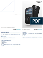 Alcatel OT 838 User Manual