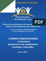 l'Espace Francophone