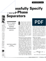 3 Phase Separator Article