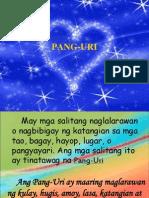 PANG-URI
