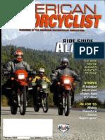 American Motorcyclist Feb 2005