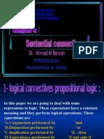 Sentential Connectives