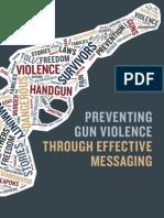 Gun Violence Messaging Guide