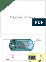 Geiger Muller Counter
