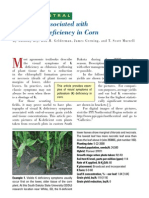 2002. Symptoms Associated With Potassium Deficiency in Corn
