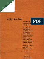 Action Poétique n°1