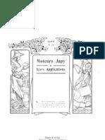 Histoire Des Moteurs Japy Et Applications (Catalogue Nancy 1909)