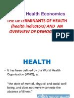 1a Health Indicators