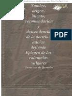 QuevedoFrancisco-SobrelasdoctrinasEstoicaydeEpicuro