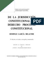 De La Jurisdiccion Constitucional Al Derecho Procesal Constitucional - Domingo Garcia Belaunde2