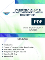 Instrumentation and monitoring of Dams and Reservoir