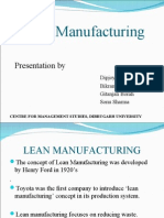 PPT on Lean Manufacturing