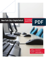 Scott Stringer Digital Deficit Report