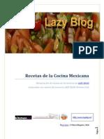 Recetas Mexicanas LAZY BLOG
