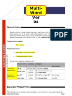AYUDA Multi-words Verbs