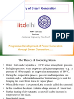 Theory of steam generation by IIT