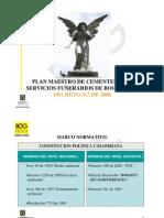 Plan Maestro Servicio Funerario