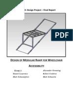 Modular Accessibility Ramp