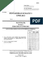 UPSR Percubaan Terengganu 2013 Matematik 2