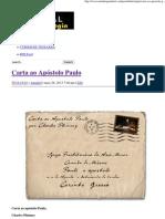 Carta ao Apóstolo Paulo _ Portal da Teologia.pdf