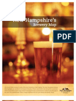 New Hampshire Brewery Map