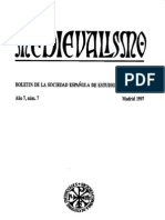 Medievalismo. Boletin de la sociedad española de estudios medievales Número 7