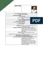 Curriculum Vitae Juan Rafffineti