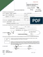 Ty Lawson Affidavit 8/20/2013