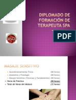 Temario DIPLOMADO Terapeuta SPA en MERIDA