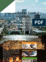 Pembangunan Sosial Di Indonesia