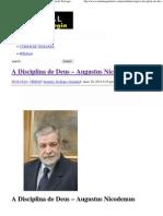A Disciplina de Deus – Augustus Nicodemus _ Portal da Teologia.pdf