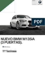 Ficha Tecnica BMW M135iA (3 Puertas) Automatico 2014