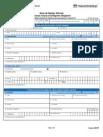 Aviso de Registro Patronal Personas Físicas en el Régimen Obligatorio