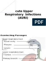 Acute Upper Respiratory Tract InfectionsMB,BS