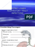 Chronic Lower Respiratory Tract Infections