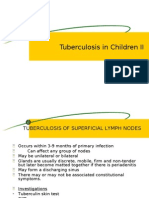 Tuberculosis in Children II