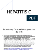 Hepatitis c Pedro