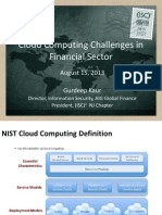 Solutions to Cloud Adoption Challenges within the Financial Services Industry