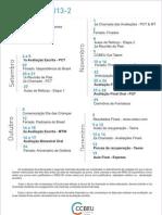Calendário 2013-2
