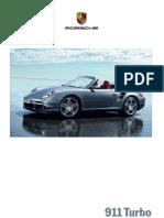 Catalogue 911 Turbo 997 MY09 PIB