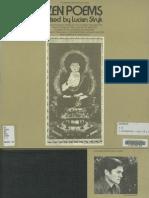Zen Poems, Read by Lucien Stryk