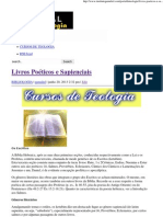 Livros Poéticos e Sapienciais _ Portal da Teologia.pdf