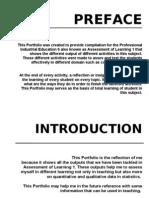 PORTFOLIO in ASSESSMENT OF LEARNING 1