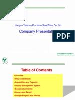 Yinhuan Presentation