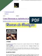 Como Morreram os Apóstolos de Jesus Cristo _ Portal da Teologia.pdf